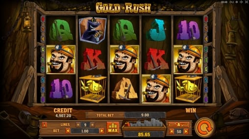 Gold Rush gameplay