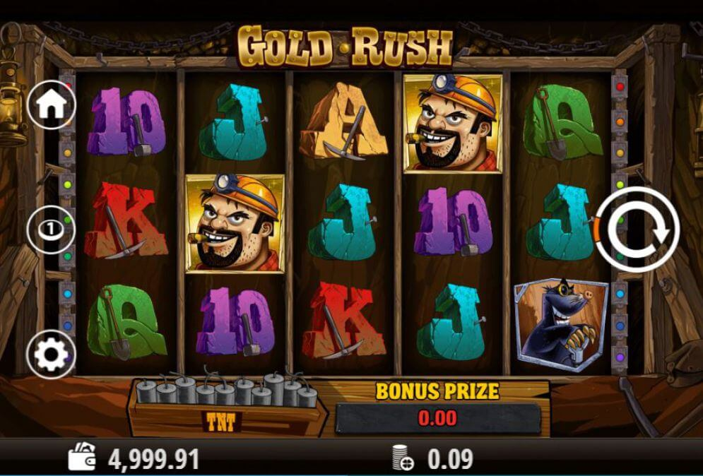 Gold Rush Slot Gameplay - Playson