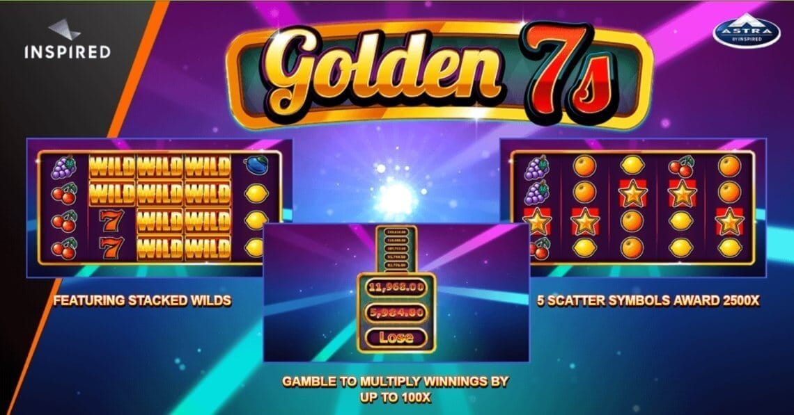 Golden 7s Slot Bonus