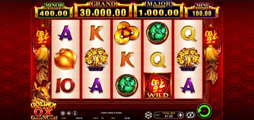 Golden Ox Slot Gameplay