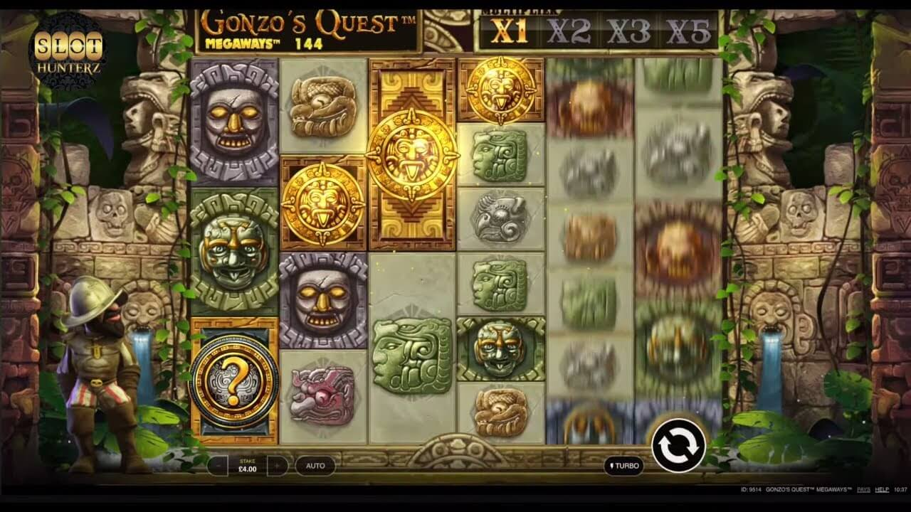Gonzo's Quest Megaways Slot Bonus