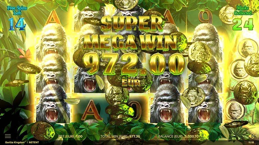 Gorilla Kingdom Slot Bonus