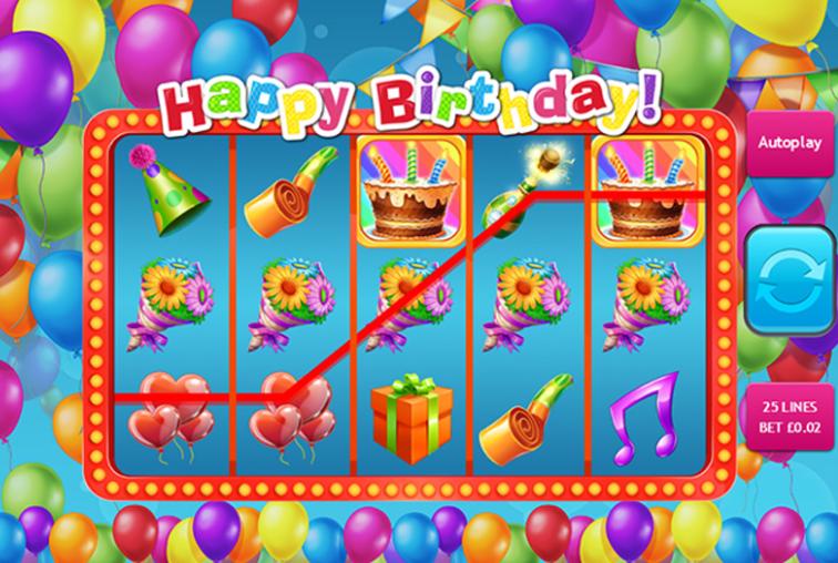 Happy Birthday Slot Game Gameplay