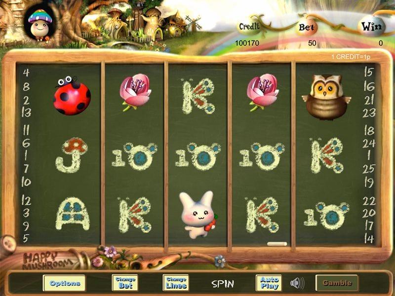 Happy Mushroom Gameplay