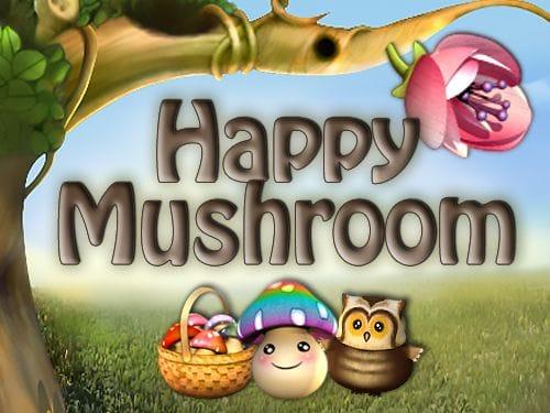 Happy Mushroom Logo