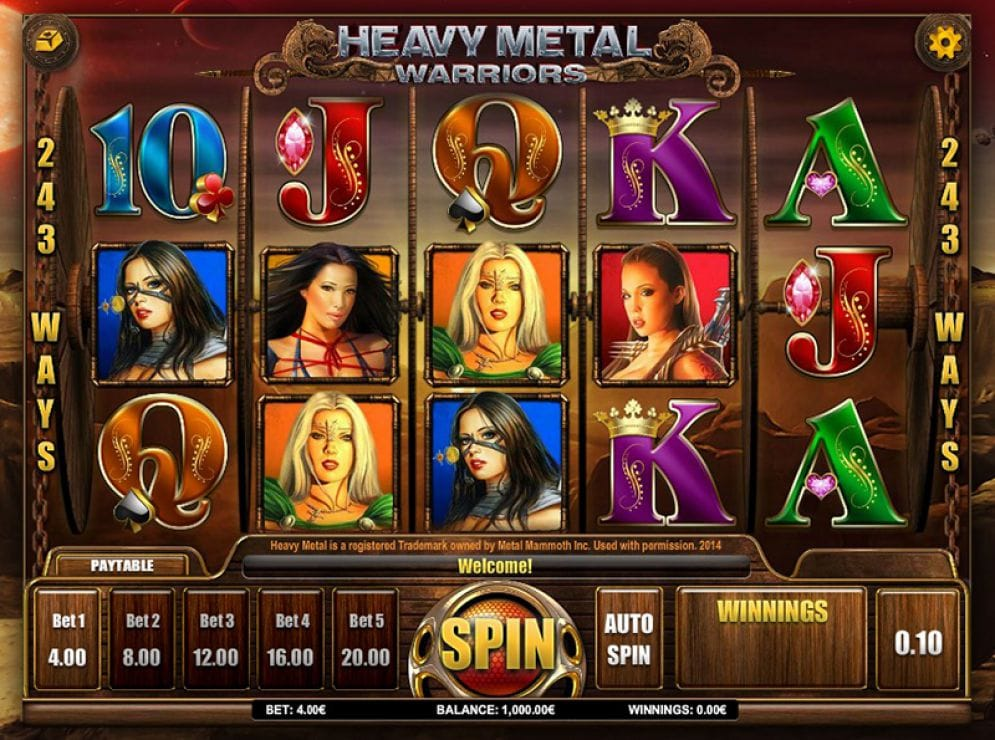 Heavy Metal Gameplay