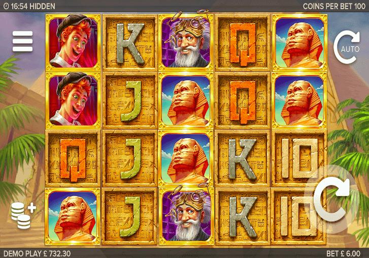 Hidden Slot Gameplay