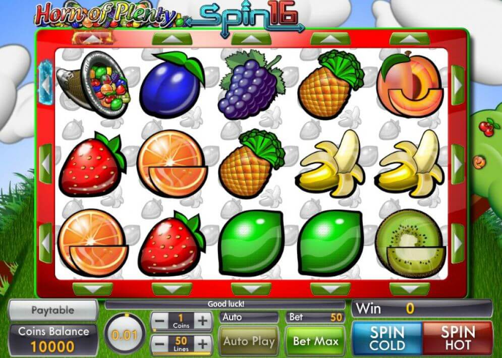 Horn Of Plenty Slot Bonus