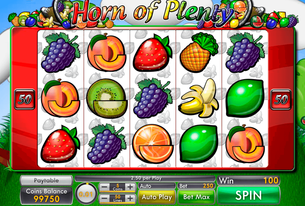Horn Of Plenty Slot Gameplay