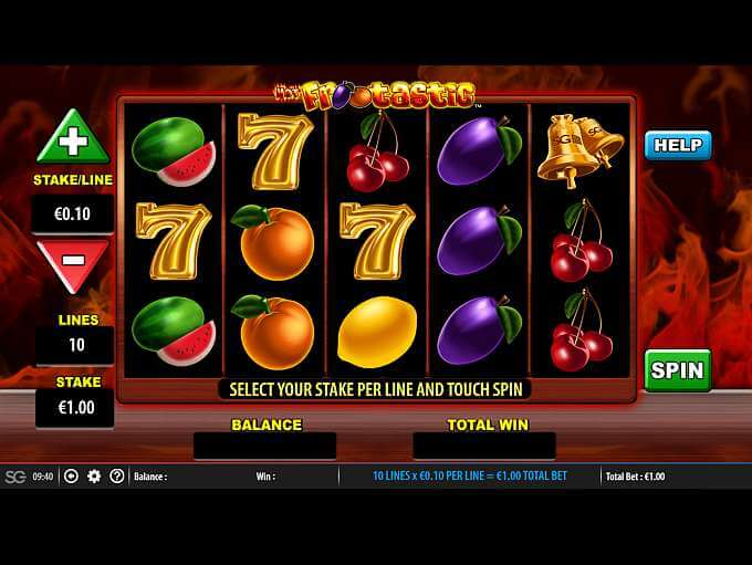 Hot Frootastic Slot Bonus