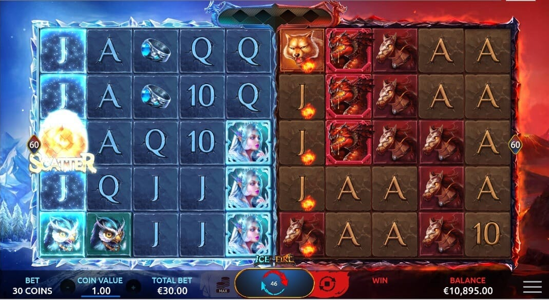 Ice and Fire Slot Bonus