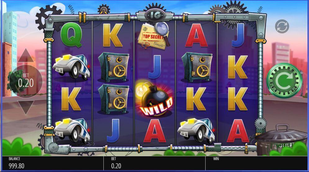 Inspector Gadget Slot Gameplay