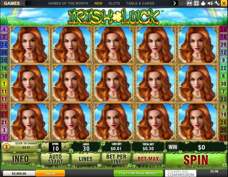 Irish Luck Jackpot Gameplay