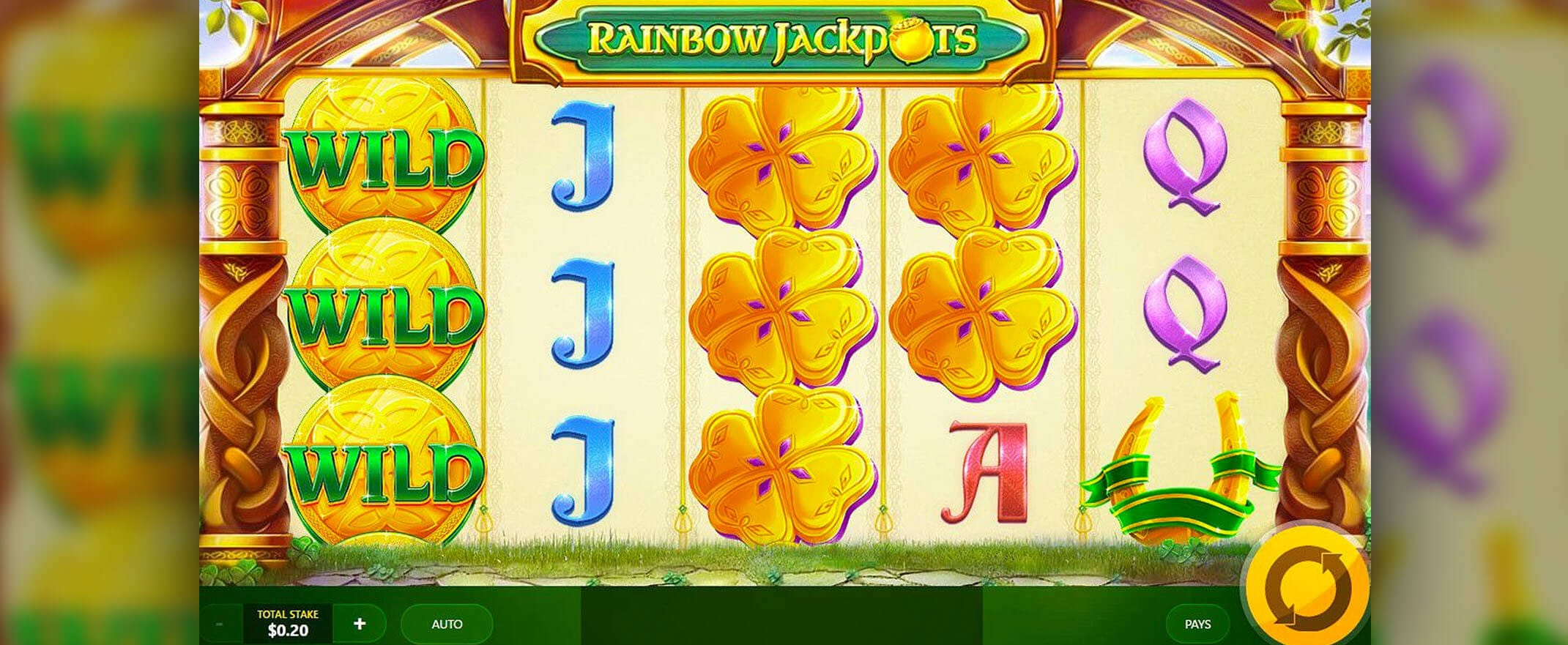 Rainbow Jackpots Slots Online
