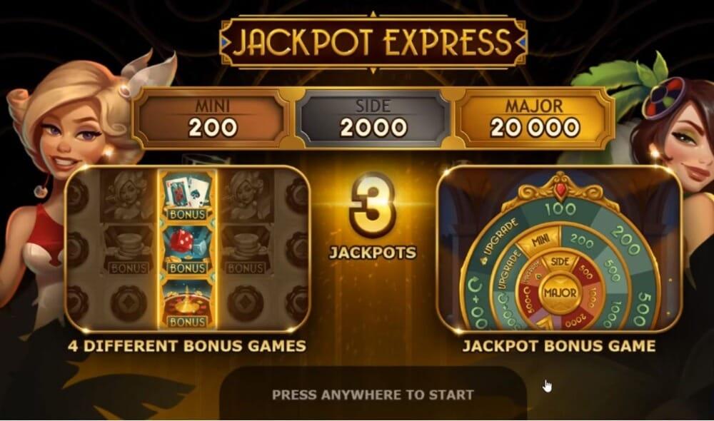 Jackpot Express Slot Bonus