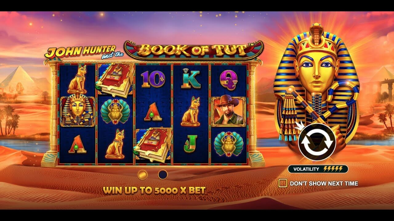 John Hunter and the Book of Tut Slot Bonus