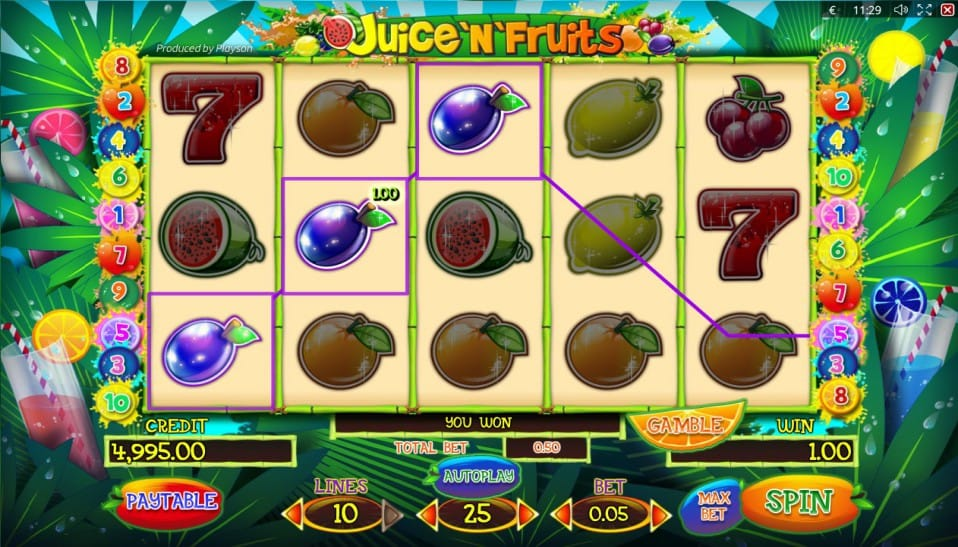 Juice'n'Fruits Gameplay 2