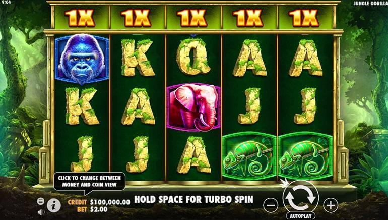 Jungle Gorilla Slot Bonus