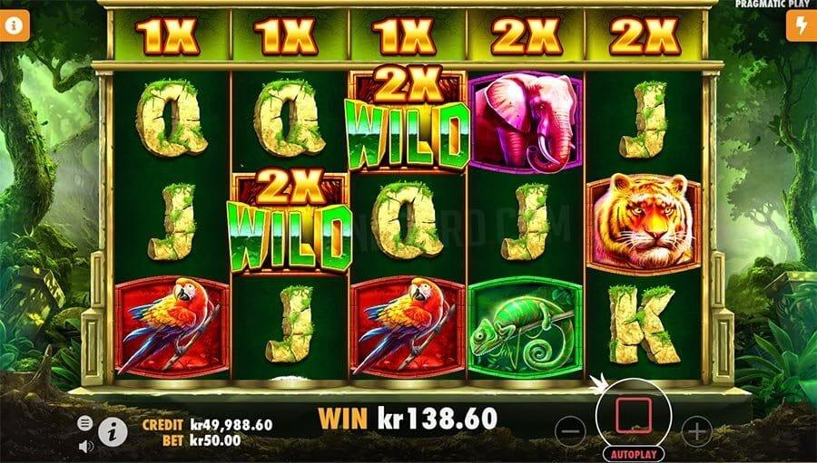 Jungle Gorilla Slot Gameplay