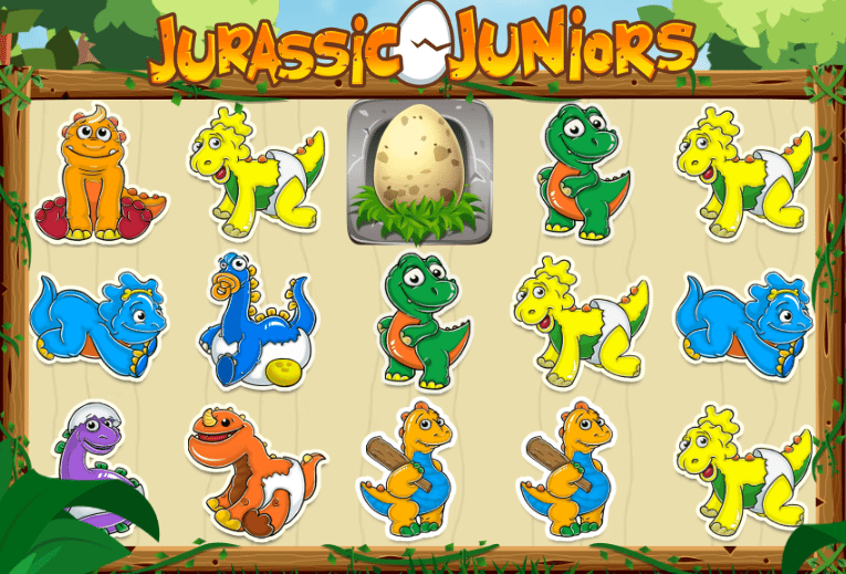 Jurassic Juniors Gameplay Screenshot
