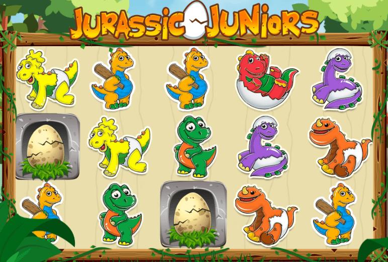 Jurassic Junior Jackpot Gameplay