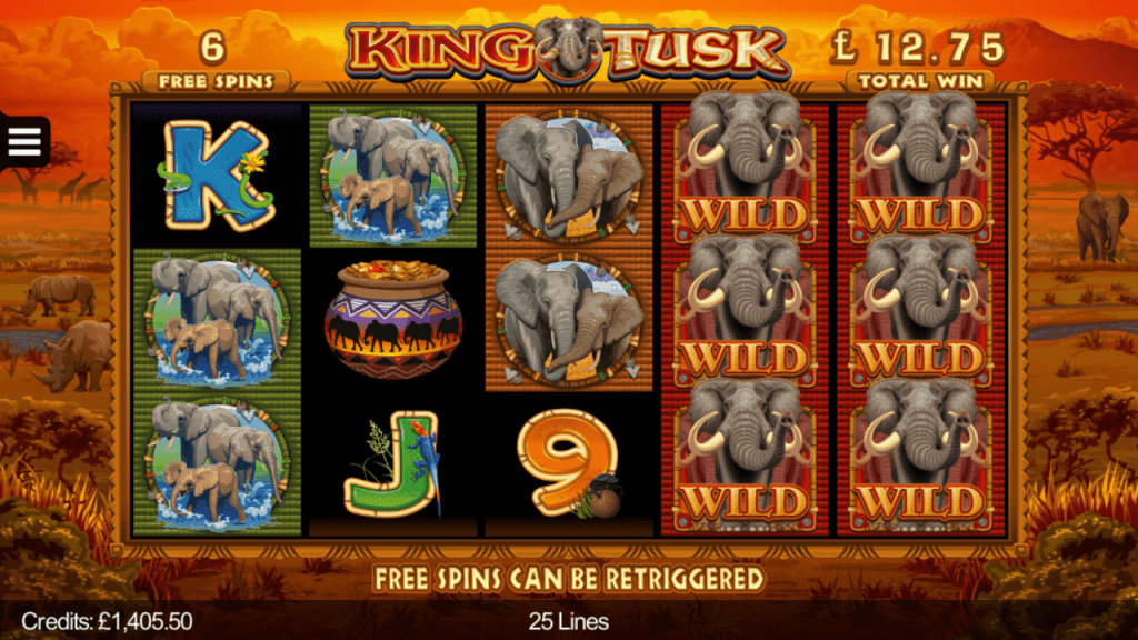 King Tusk Wild