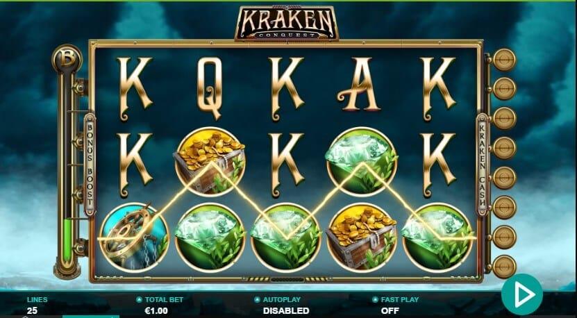 Kraken Conquest Slot Bonus