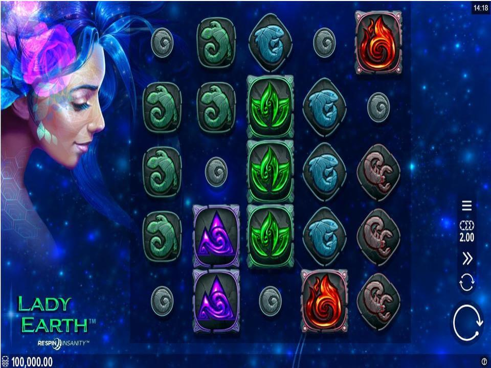 Lady Earth Slot Gameplay