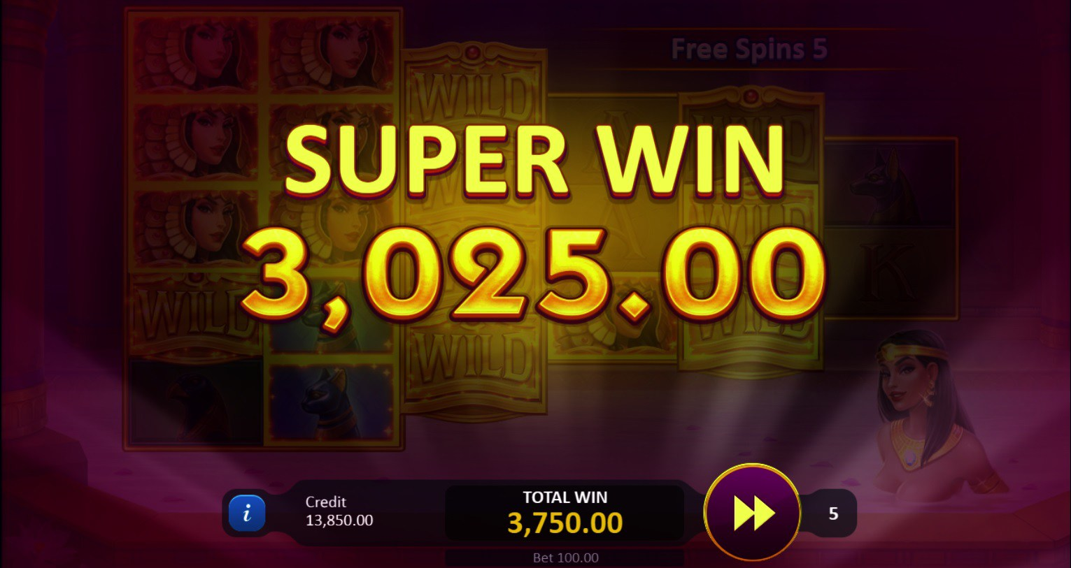 Legend of Cleopatra Super Win