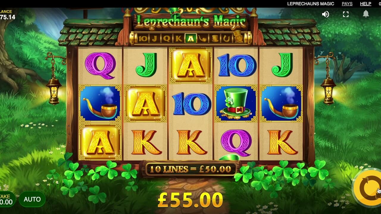 Leprechauns Magic Slot Gameplay