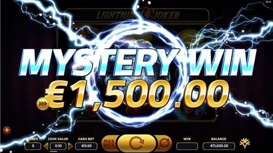 Lightning Joker Slot Gameplay