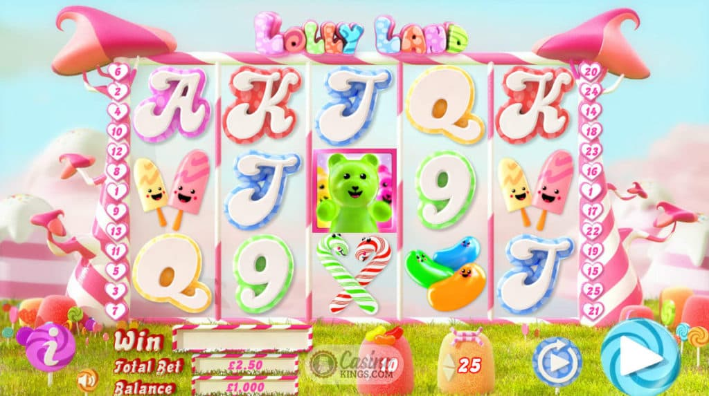 Lolly Land Gameplay
