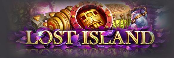 Lost Island Slot Logo