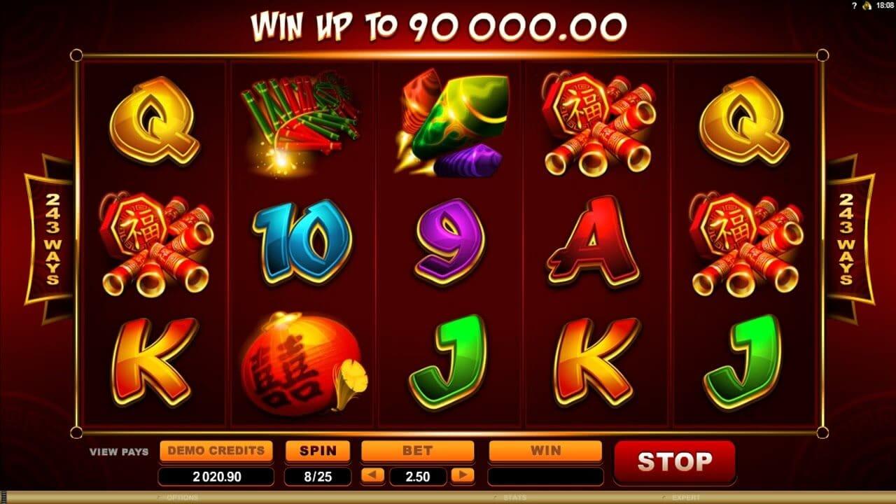 Lucky Firecracker Slot Bonus