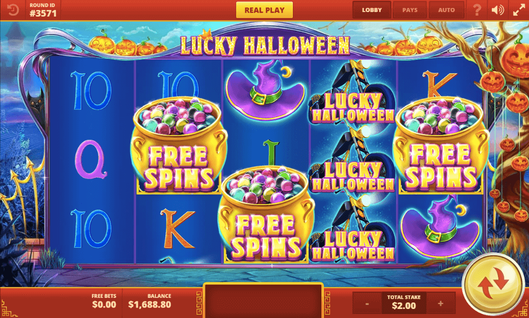 Lucky Halloween Slot Bonus
