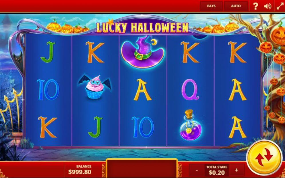 Lucky Halloween Slot Gameplay