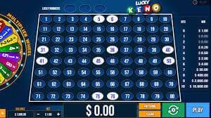 Lucky Keno Slot Bonus