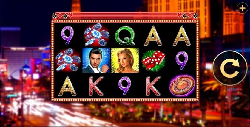 Lucky Strip Slot Gameplay