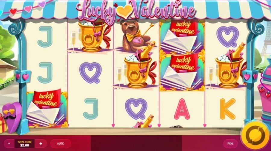 lucky valentine gameplay slots baby