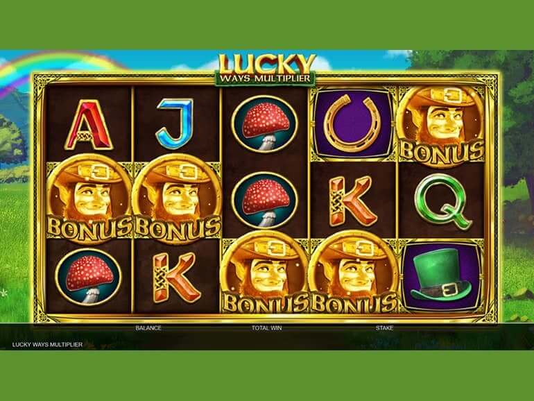 Lucky Ways Multiplier Slot Bonus