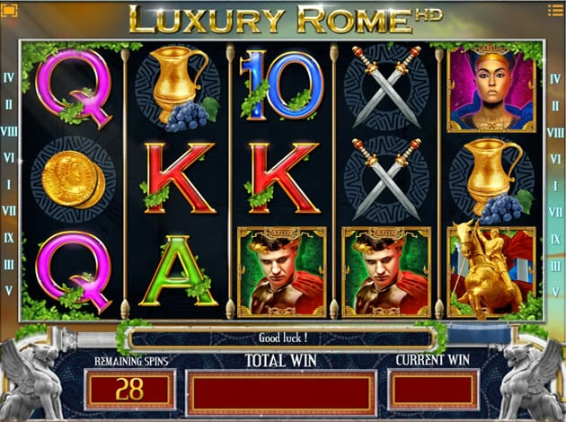 Luxury Rome HD Gameplay