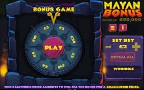 Mayan Bonus Slot Gameplay