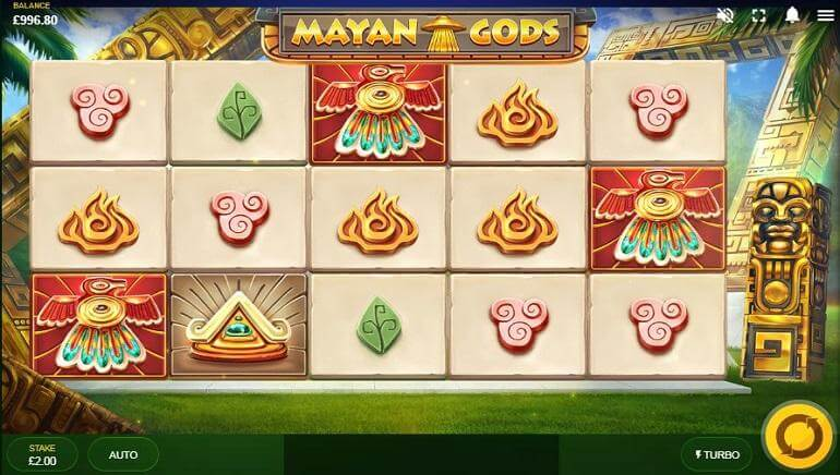 Mayan Gods Slot Gameplay