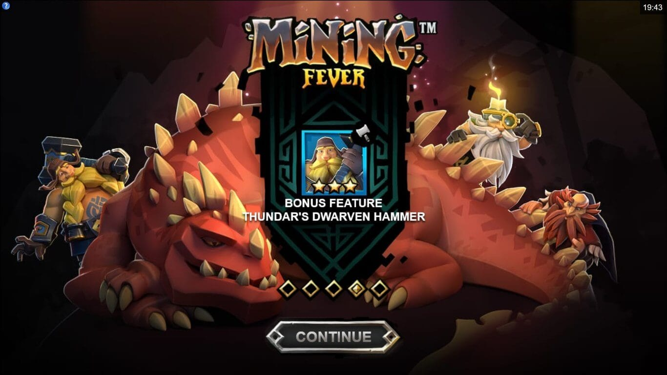 Mining Fever Bonus