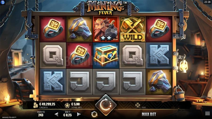 Mining Fever Gameplay