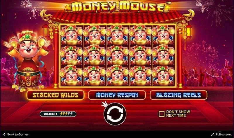 Money Mouse Slot Bonus