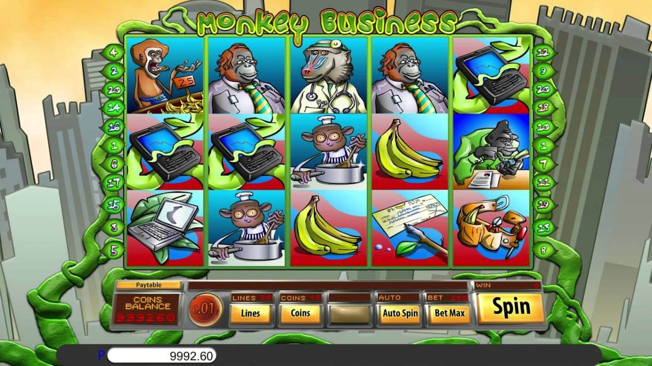 Monkey Business Slot Bonus