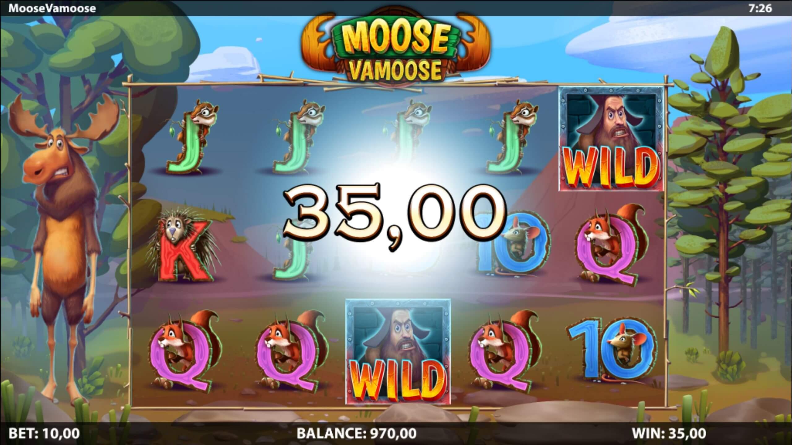 Moose Vamoose Slot Bonus