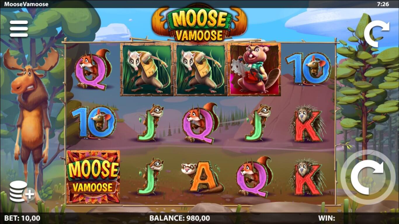 Moose Vamoose Slot Gameplay