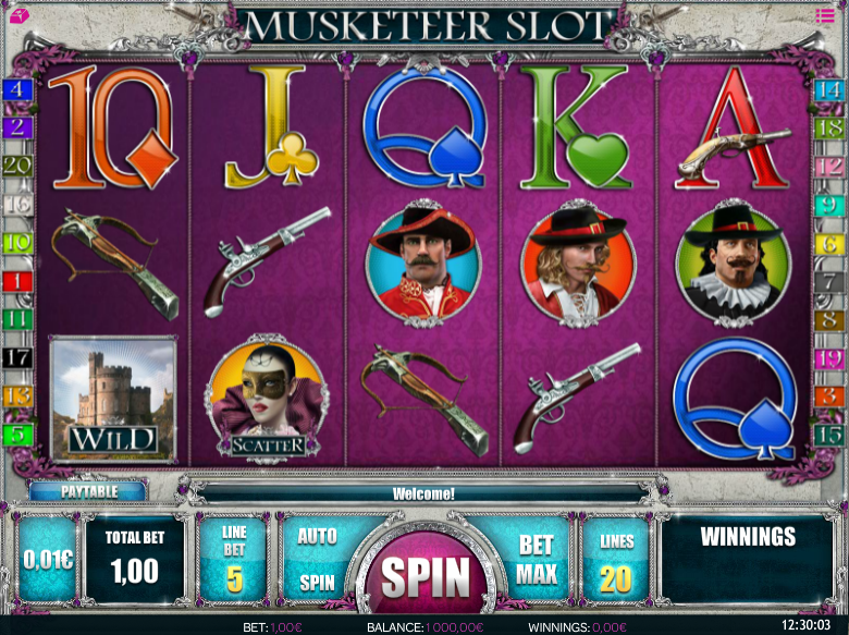 Musketeer Gameplay